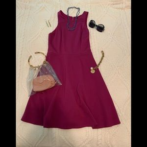 💕Lovely WHBM pinkish-maroon colored dress💕